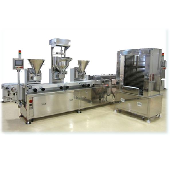 ファンタジーケーキ製造装置      充填成形折込み機